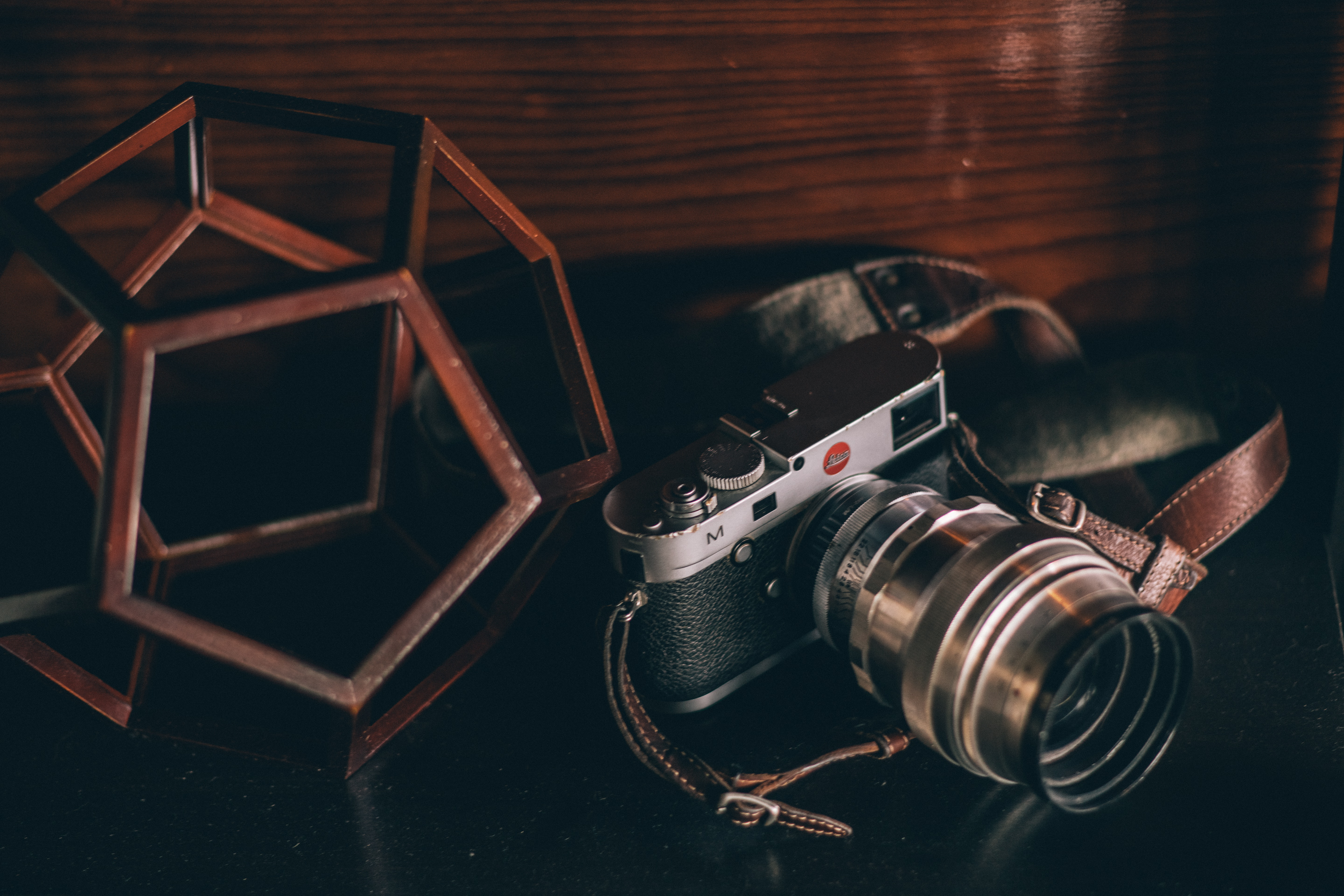 Leica M with Helios 40 lens